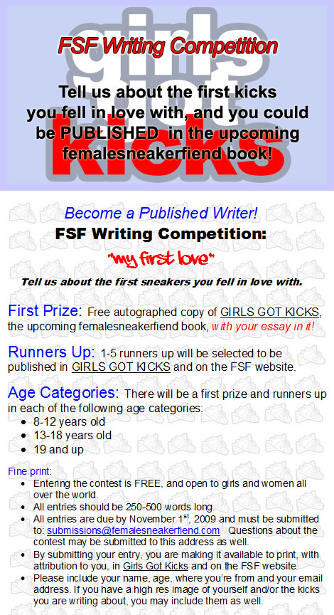 first love writing contest